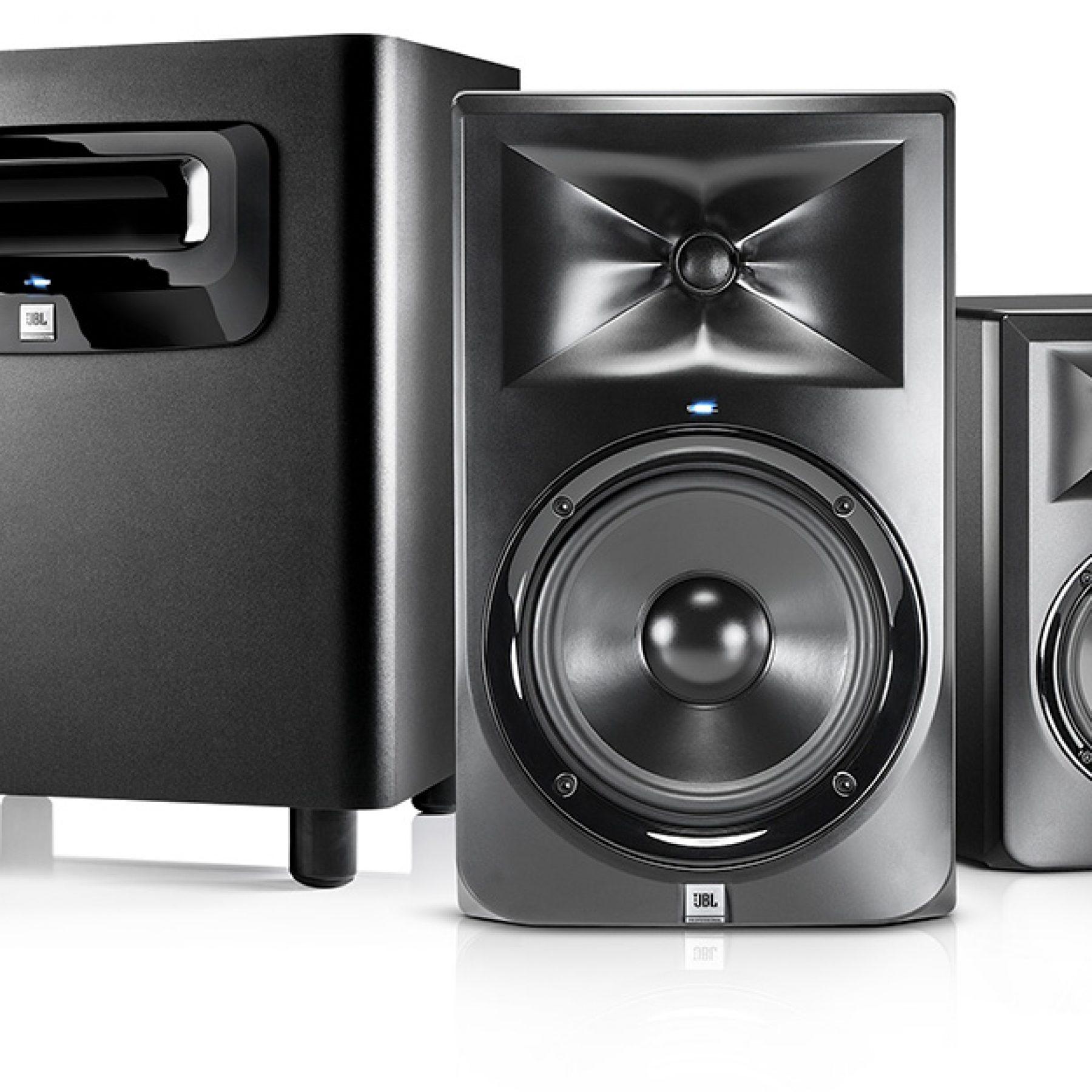 jbl 3 series monitors sub audiotechnology. Black Bedroom Furniture Sets. Home Design Ideas