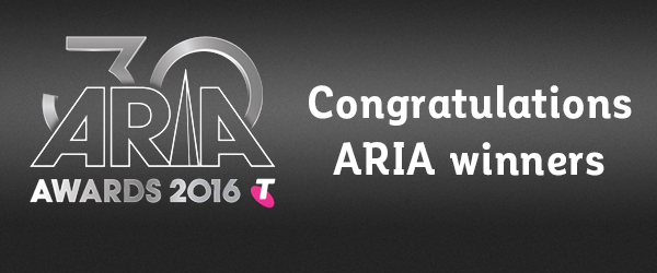 aria award winners