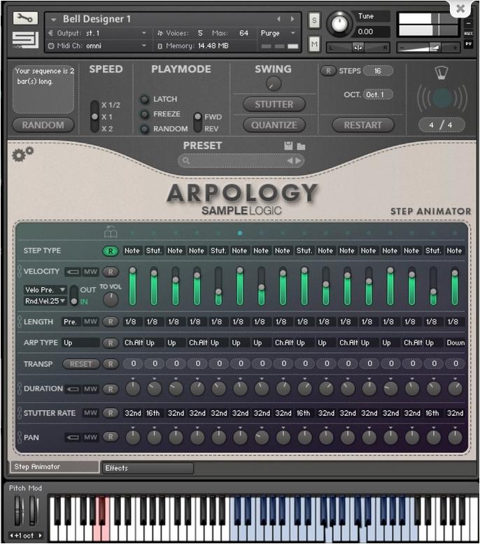 ARPOLOGY Sample Logic