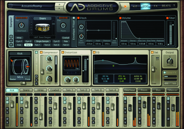 XLN AUDIO ADDICTIVE DRUMS - AudioTechnology