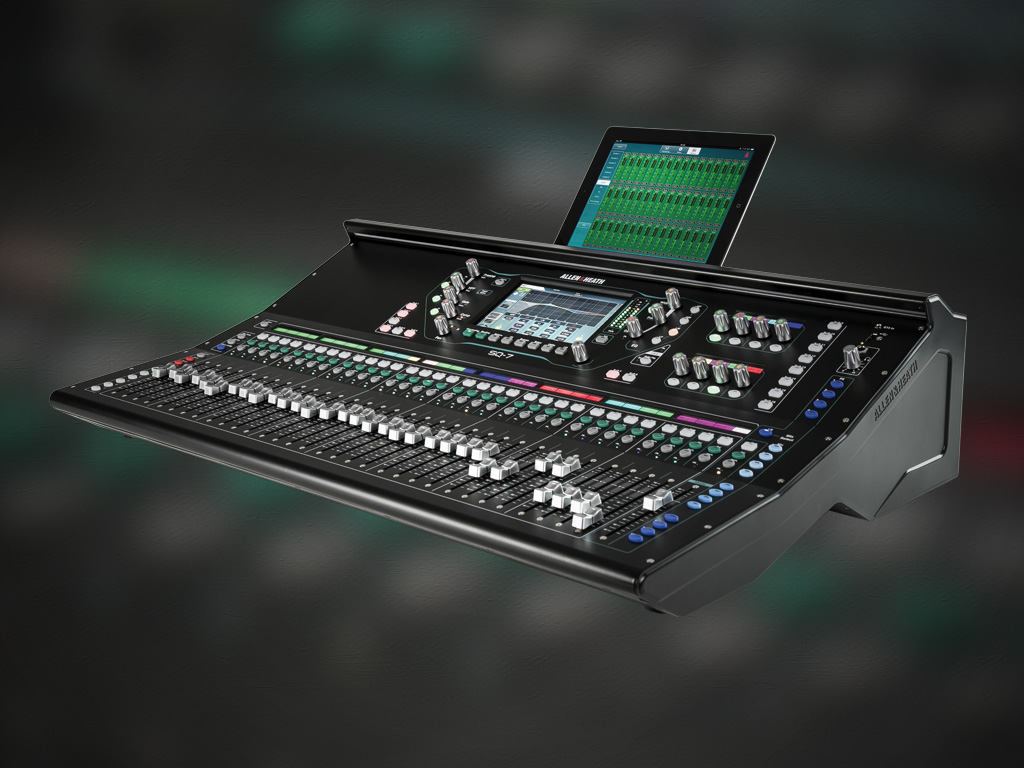 ALLEN & HEATH SQ SERIES DIGITAL CONSOLE - AudioTechnology