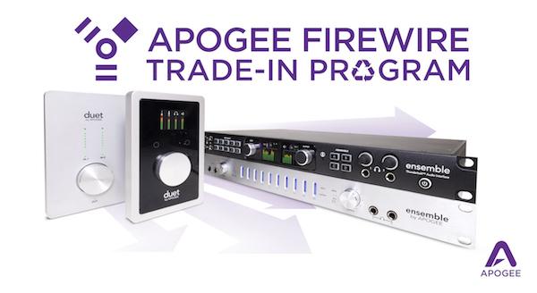 apogee trade-in specials