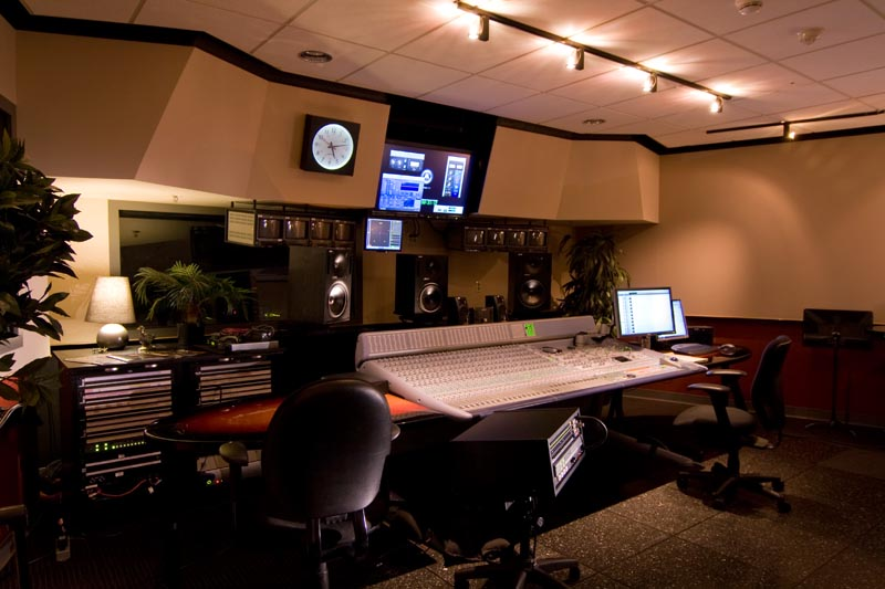 MPS recording and mixing room.