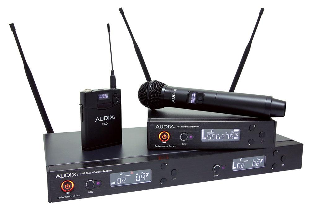 Audix_Wireless_System_Family