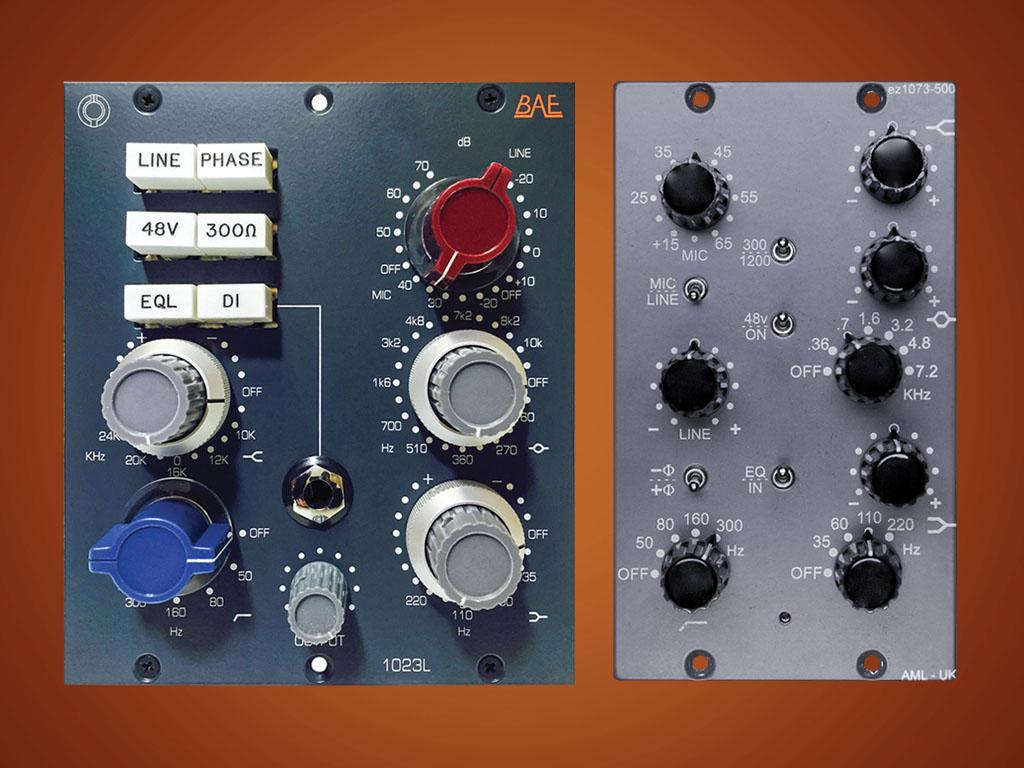 BAE VS AML NEVE CLONE SHOOTOUT — AudioTechnology