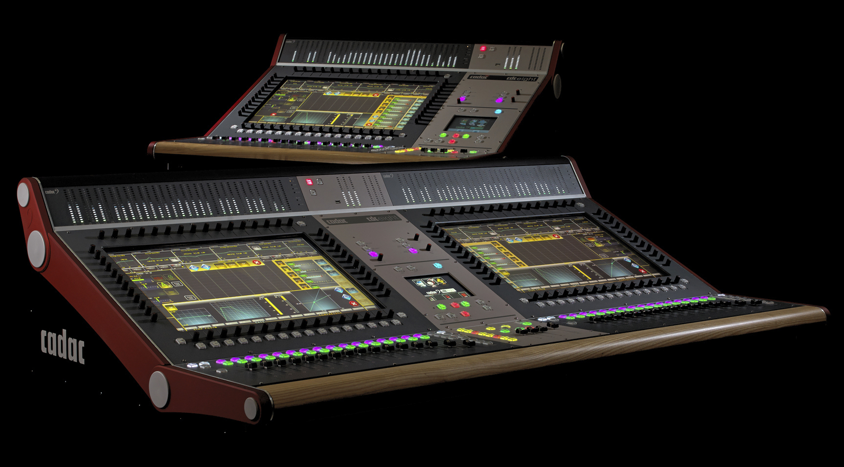 CADAC console for SoundGrid Waves news