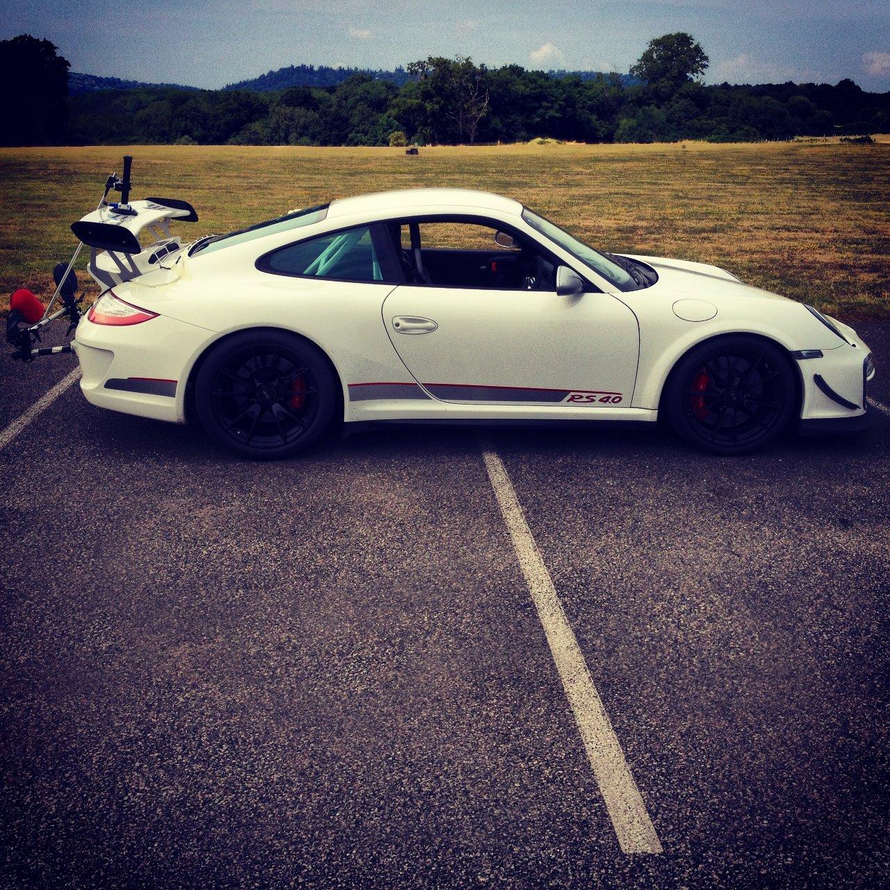 DPA Recording a Porsche GT3
