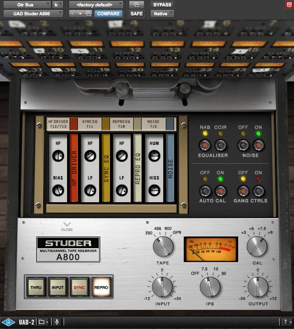 Guitar Buss Studer A800