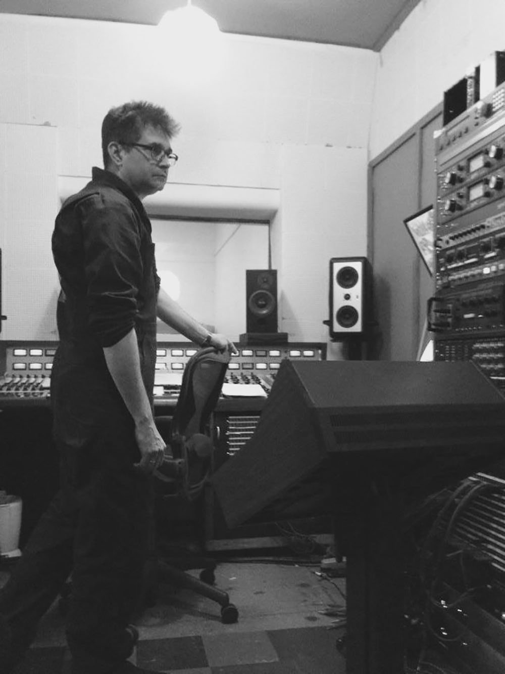 Steve Albini helmed the beginning of the recording until he tired of LA.