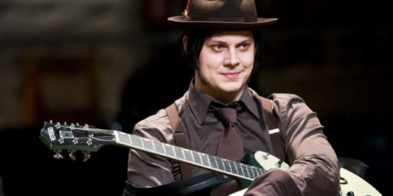 Jack White, one of the artists refusing to sign the Youtube deal (pic from AUX)