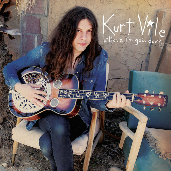 kurt vile b'lieve I'm goin down album cover