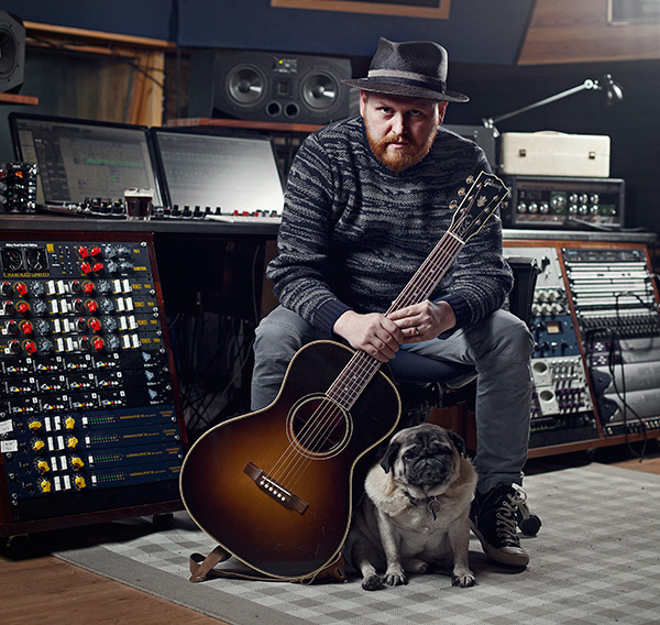 Kiddi and his pug at the centre of Iceland's cultural export market.