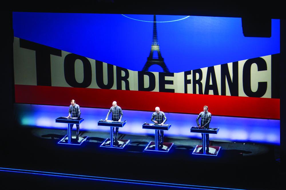 Kraftwerk perform Tour de France