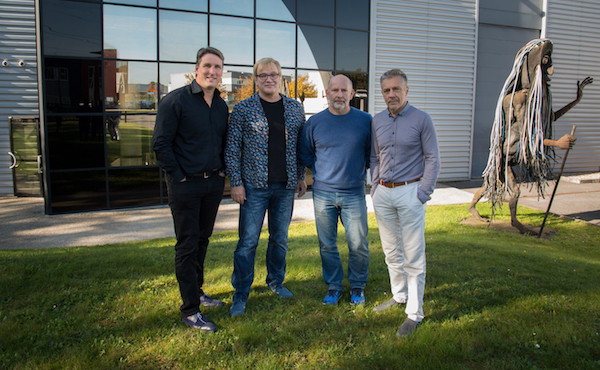 Left to Right: Hervé Guillaume, MD at L-Group; Reiner Sassmann, MD at CAMCO; Joachim Stoecker, MD at CAMCO; Christian Heil, Founder and President at L-Group