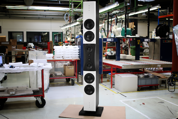 dynaudio m5p evidence monitors in factory