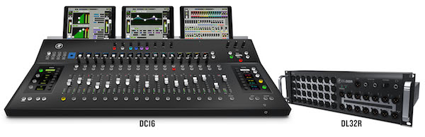 mackie dc16 control surface for dl32r