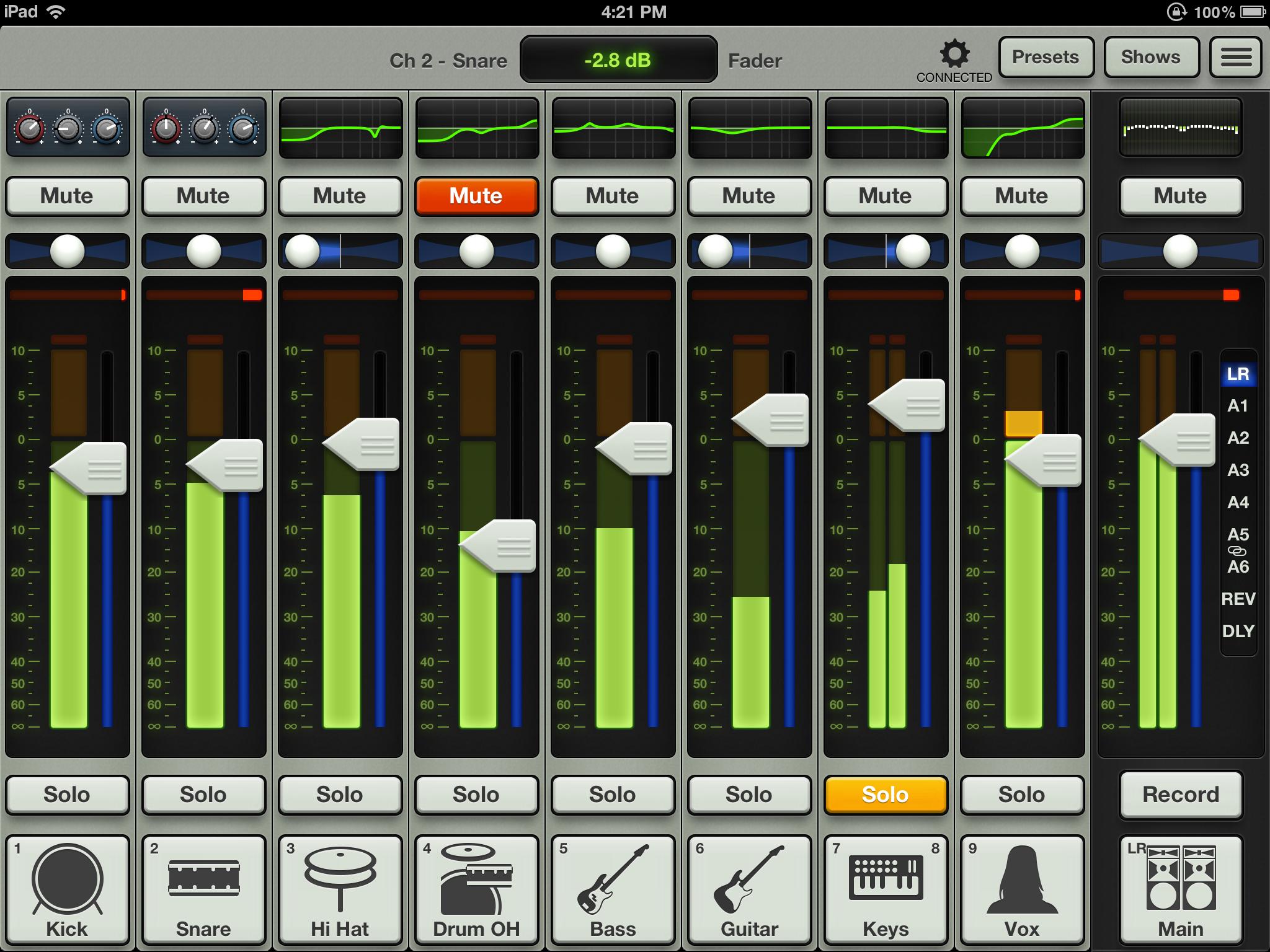 Mackie Mixer App