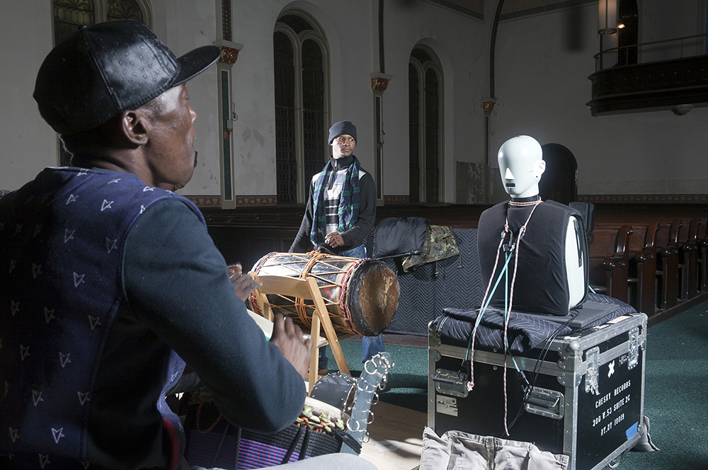 African Percussion, St. Elias Church, Chesky Recording Session,