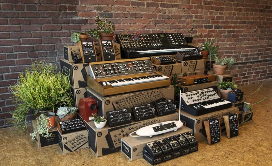 moog syntheiszers innovative music