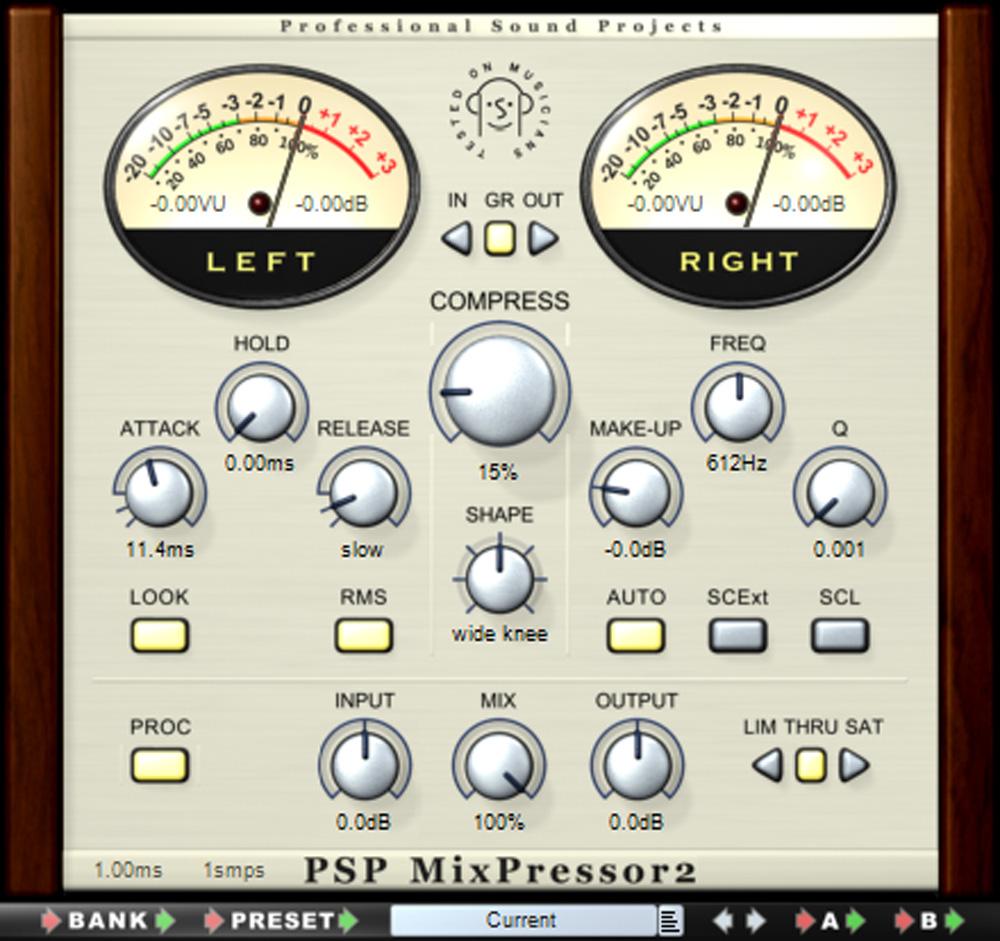 PSPaudioware MixPressor 2