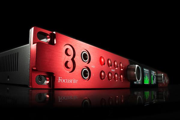 focusrite red 8pre thunderbolt interface