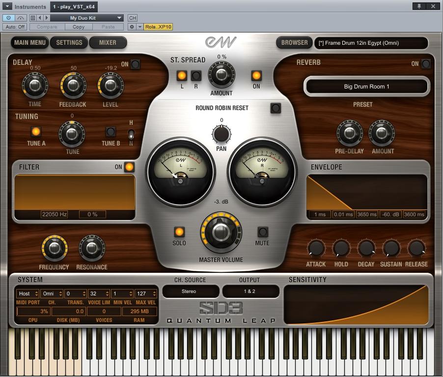 SD3 GUI