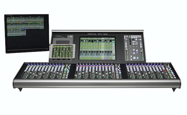 ssl l200 console