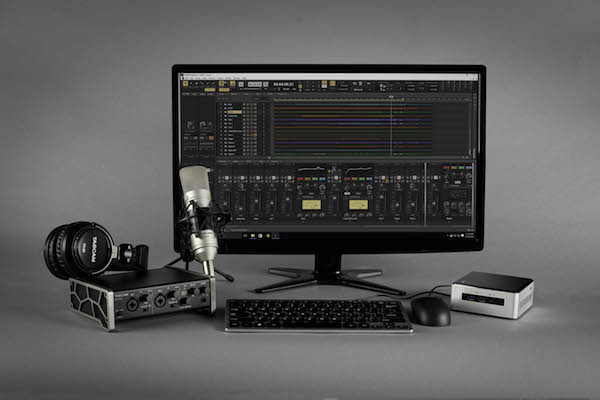 tascam track factory bundle product family