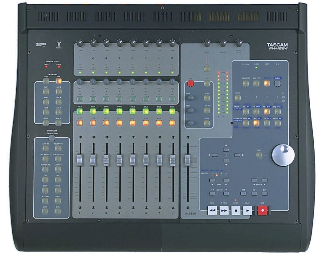 Tascam FW-1884 Fire Wire Audio Interface