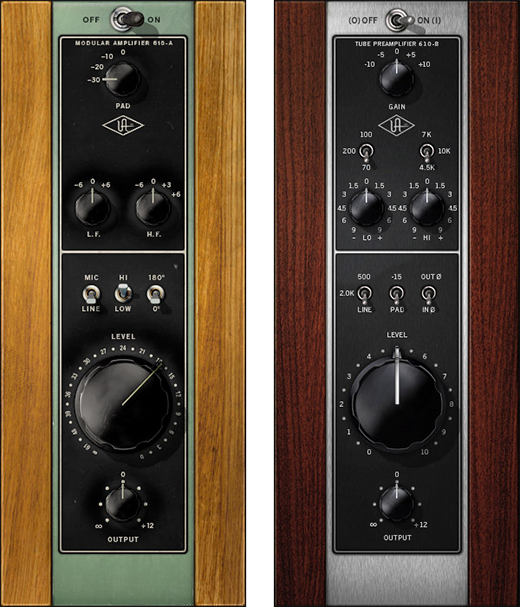 UA 610 Preamp Plug-in
