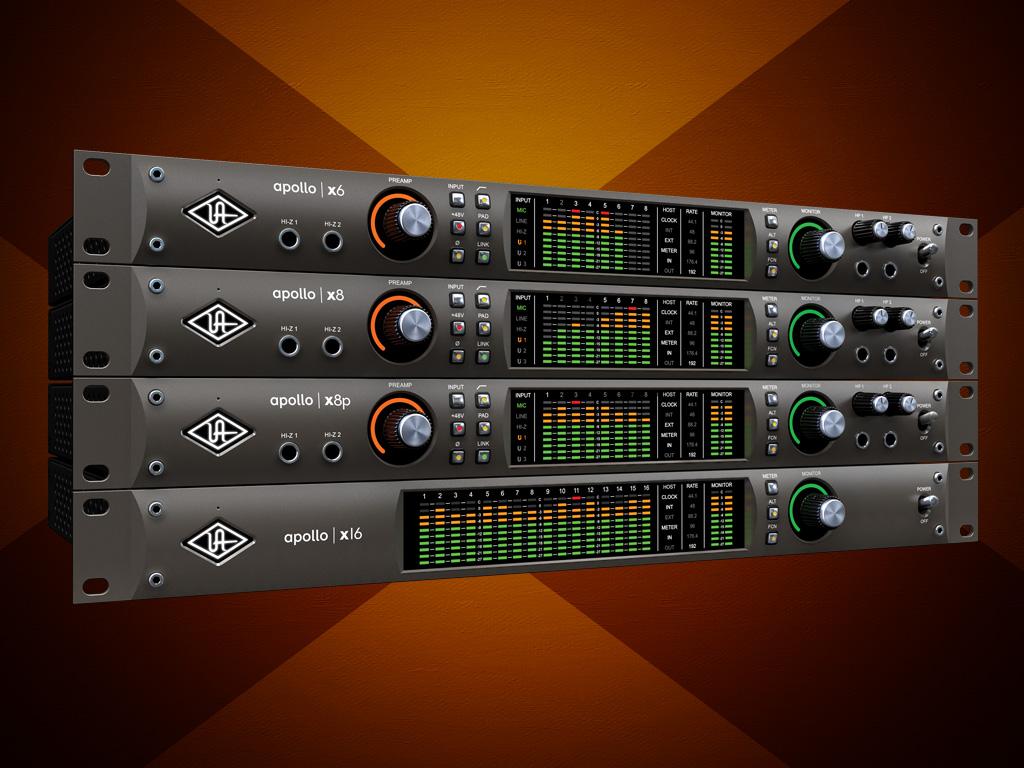 UNIVERSAL AUDIO APOLLO X8 AUDIO INTERFACE - AudioTechnology