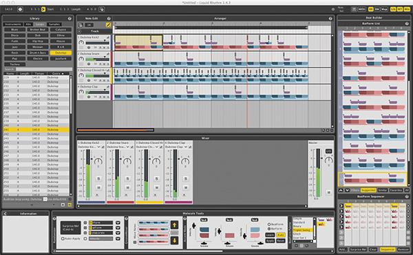 Liquid Rhythm as a VST plug-in.