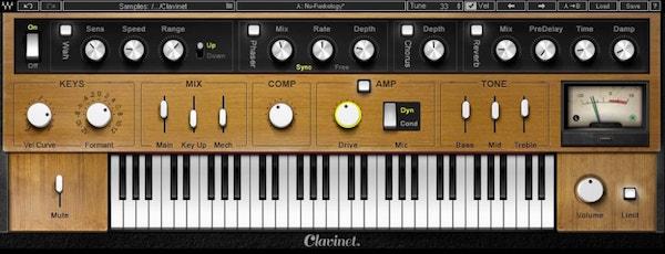 waves clavinet plug-in
