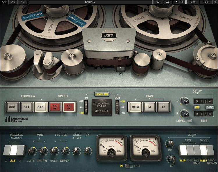 Waves J37 Stereo Tape plug-in