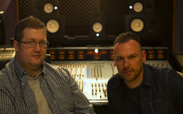 Will Morton with studio partner Craig Connor (image: PSE Blog).