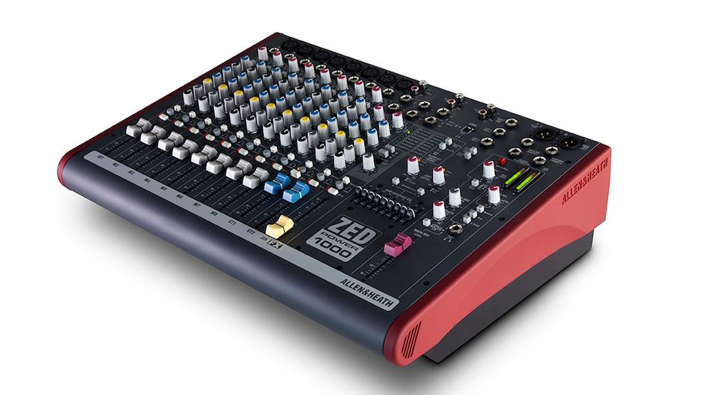 Allen & Heath ZED Power 1000 mixer