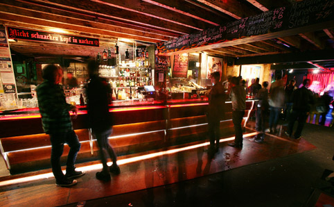 Inside Cherry Bar (image: time-out)
