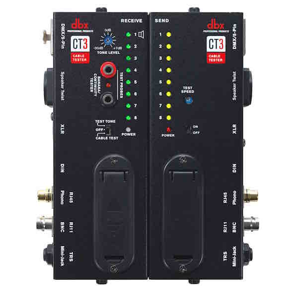 dbx ct3 cable tester