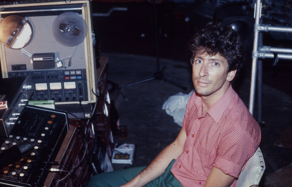 Dave Claringbold has spent some 20 years working at the Sydney Opera House, most recently as Director of Theatre & Events. He has recently announced his resignation as he pursues other challenges and over the next two issues reflects on his role in turning the technical fortunes of 'The House' around. Pictured is David in the mid '80s recording some soundscapes for a Baz Lurhmann theatre production in his Darlinghurst squat.