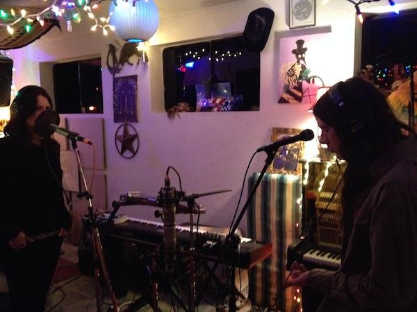 kurt vile recording with lots of mics