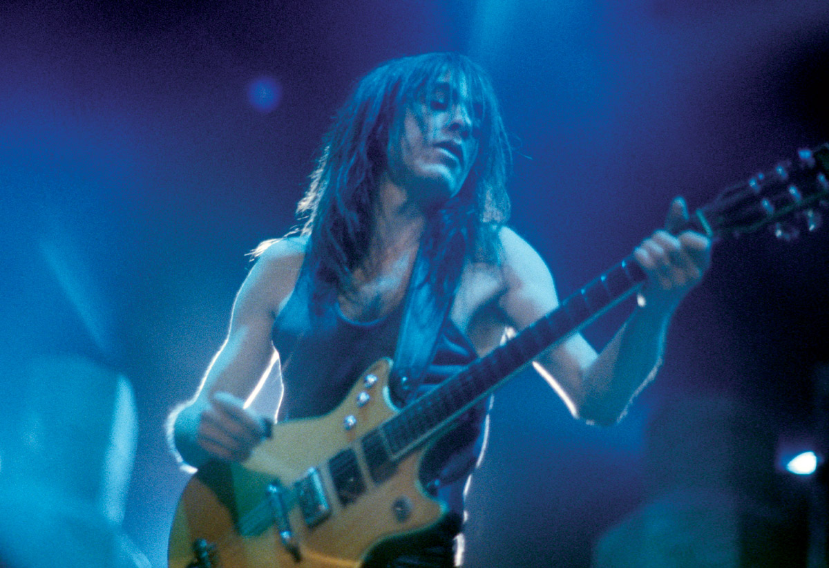 Young in his glory days (image: ACDC.com)