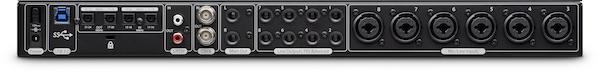 presonus studio 192 usb 3 interface back
