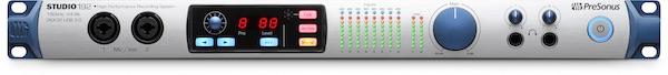 presonus studio 192 usb 3 interface front