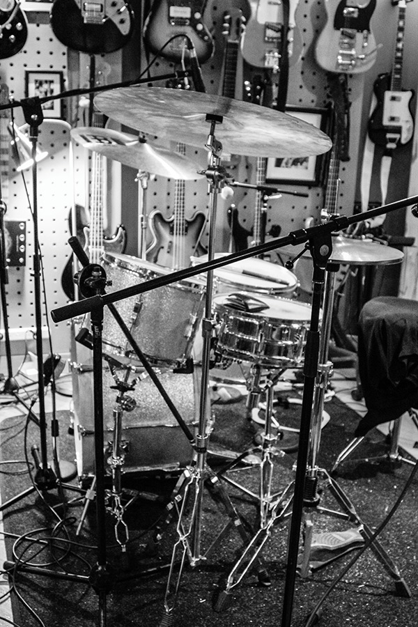 Add a few more mics for that late '60s sound, and chuck a wallet full of cash on the snare for dampening.