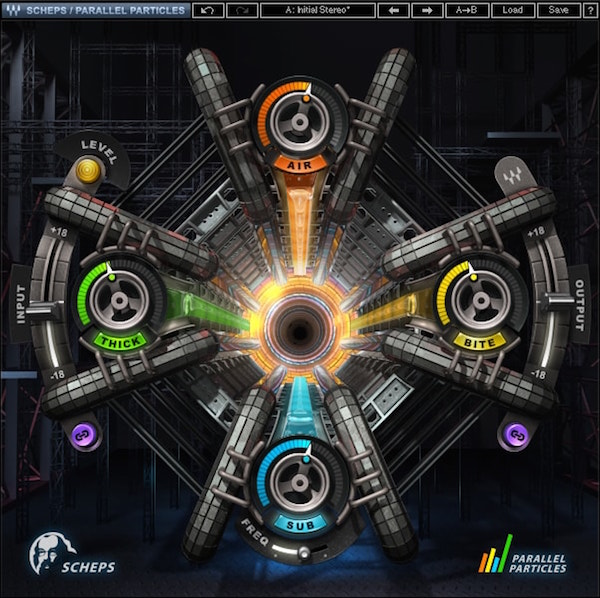 waves scheps parallel particles plug-in
