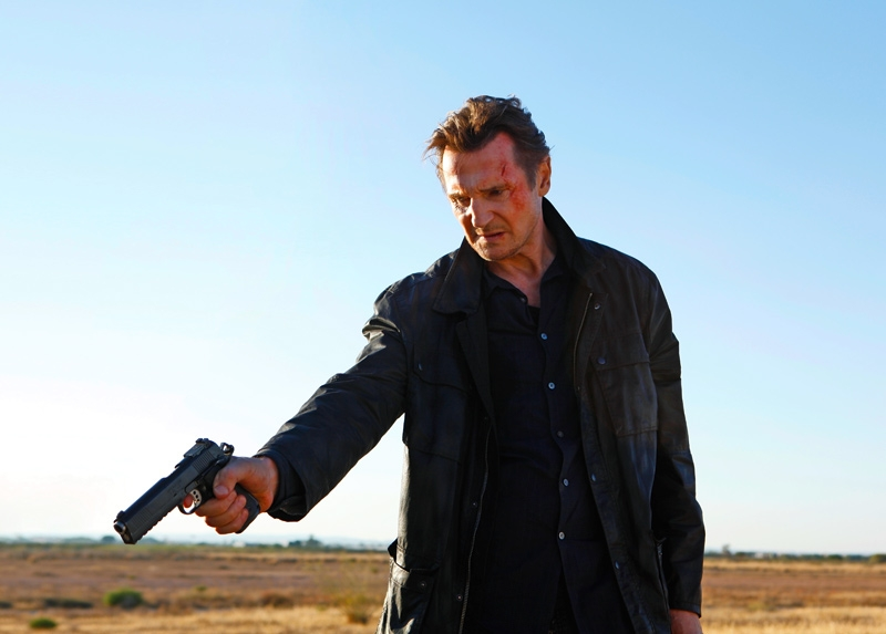 Liam Neeson in a scene from Tak3n (image: courtesy 20th Century Fox).