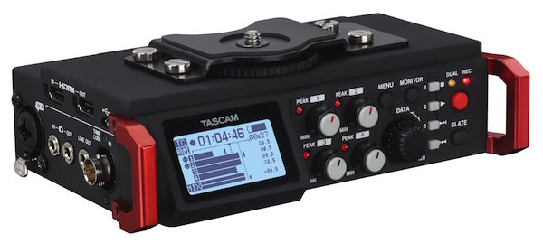 tascam dr-701d field recorder