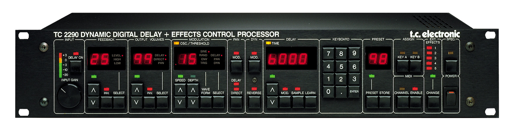 The 2290 delay, one of the products that put TC on the map.