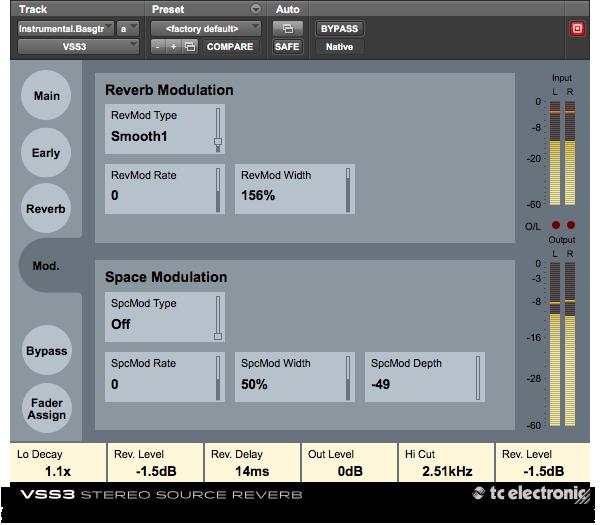 TC Electronics VSS3 screenshot