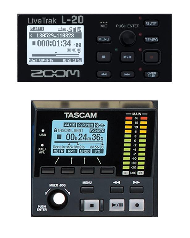 Tascam Model 24 Vs Zoom Livetrak L-20